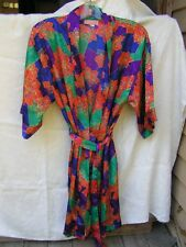 """""""INHIBITIONS"""" SHORT BELTED ROBE ~ SIZE L"""