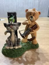 More details for bad taste bears figurine rare pussy collection retired cat i'll miss you