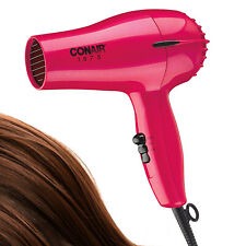 HAIR BLOW DRYER Compact Travel Blower Professional Cool Styling Tool 2 Speed