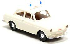 Brekina VW Volkswagen 1500 1600 Gendarmerie Österreich weiß PKW Modell 1:87 H0