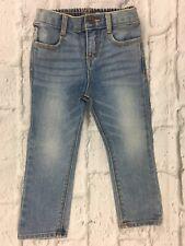 Osh Kosh Girls Skinny Jeans Size 24 Months Light Washed Wiskered