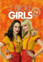 2 Broke Girls: The Complete Series Season 1-6 (DVD, 17-disc box set)