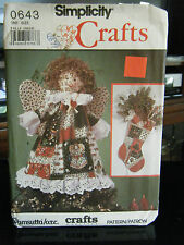 Simplicity Crafts 0643 Christmas Decorations & Table Decorations Pattern