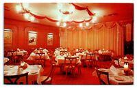1950s/60s Navarre's Restaurant Interior, Phoenix, AZ Postcard