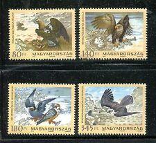 Hungary 4234-4237, MNH Bird: Eastern Imperial Eagle,Saker Falcon, Dove. x19853