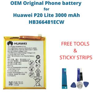 OEM Original Battery For Huawei P20 Lite 3000 mAh Capacity HB366481ECW Phone New