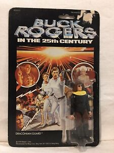 Buck Rogers In The 25th Century Draconian Guard 1979 MEGO Sealed Card Vintage