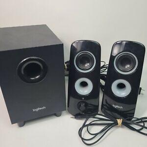 Logitech Speaker System Z323 With Subwoofer Excellent Condition