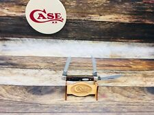 Case 1980's 6333 Small Stockman Knife With Jigged Delrin Handles-Mint - #14