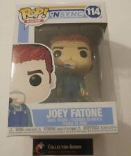 Funko Pop! Music Rocks 114 N'Sync Joey Fatone Pop Vinyl Fu34541 N Sync Nsync
