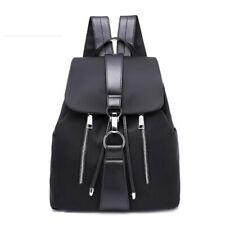 Women Backpack Nylon Female Fashion Travel Waterproof Patchwork Leather Bag Lady