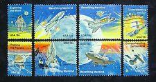 United States, 1981 Space Achievements, Scott 1912-19, 8 Stamps, 18 cents, Used