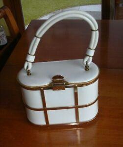 Vintage Etra Evening Bag With Brass Trim
