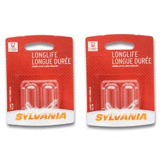 Sylvania Long Life - Two 2 Packs - 74LL Light Bulb Courtesy Glove Box Seat ta