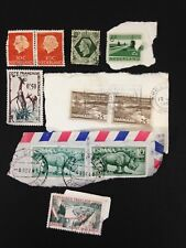 Vintage 1950/60's Group of 10 European Stamps #Lot3