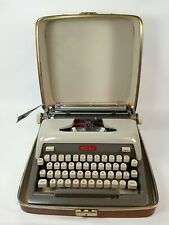 Vintage Royal Futura 800 Typewriter Mist Grey 2 Tone 1960s W Case