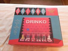 Drinko The Dricking Game of Choice, 6 Slot Glasses, Chips, and Board