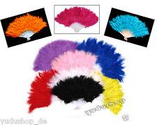 Federfächer Handfächer  Fächer viele Farben zu auswählen