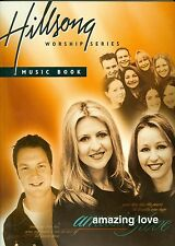 Hillsong AMAZING LOVE Live Worship series songbook Christian sheet music