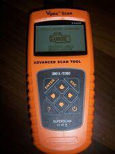 Super Diagnose-Tool Scanner Vehicle Sensor Data Review Analysis EOBD OBD2 Scan