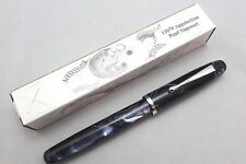 NOODLERS APPALACHIAN PEARL ACRYLIC NEPONSET PISTON FLEX NIB FOUNTAIN PEN