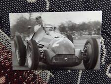 Cartolina Motorsport-GIUSEPPE FARINA ALFA ROMEO TIPO 158 SILVERSTONE 1950