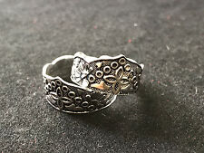Sterling Silver Decorative Toe Ring