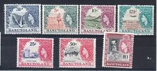 Basutoland Scott 76-82 Mint hinged (Catalog Value )