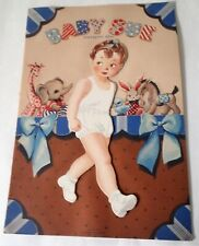 Baby Sue Statuette Paper Doll Whitman 1944 Hilda Frommholz Design Unused