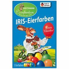 coloranti per uova, IRIS eierfarben 5 colori per uova in pastiglia Heitmann