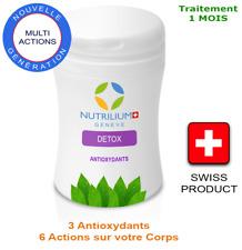 NUTRILIUM Detox - 3 Antioxydants ! Traitement 1 mois