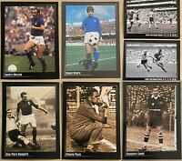 LOT OF 15 Maldini Del Piero Riva Mazzola Italy PANINI SUPER ALBUM RARE MINT