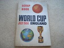 1966 WORLD CUP WILLIE SCRAP BOOK