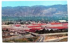 Vintage 1960's San Fernando Valley Warner Brothers Studio Burbank Photo Postcard