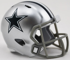 DALLAS COWBOYS NFL Riddell Speed POCKET PRO Mini Football Helmet