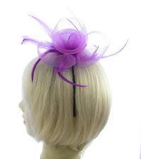Violet fascinateur avec ultra mince bandeau, Mariages, Courses, Femmes jour