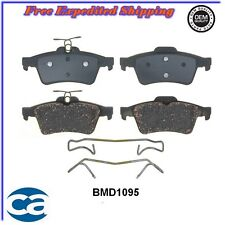 CARQUEST Front Disc Brake Pads Ceramic Rear BMD1095 for Mazda,Ford Escape