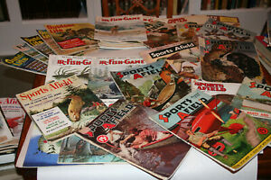 1930-85 44 Issues! Cover Art Advertising Fishing Hunting Sports Afield Trapping+