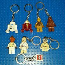 LEGO Star Wars Keychain Christmas Ornament Minifigure C-3PO R2D2 Chewbacca R7A7