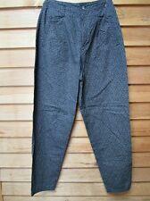 Vintage Gap Cotton Slacks,Trousers,Pants,Wom ens 7/8,Black Floral Print,29 1/2Ins