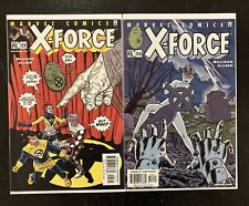 X-FORCE # 125 + 126 two copy set First 1st Appearance Of Dead Girl, Marvel Comic