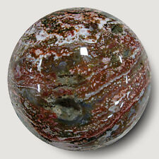HOLY MOLY  XXL Ocean Jasper Sphere TOP QUALITY!! GREAT COLOR -Madagascar- EOJ722