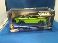Fast & Furious Letty's Dodge Challenger SRT8 Collector Car Die-Cast 1:24 Scale