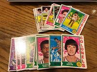 1974-75 Topps Basketball Card UPick (25 Picks) You Pick Finish Your Builder Lot!