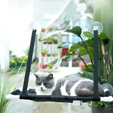 Pet Cat Window Mounted Durable Soft Seat Hammock Perch Bed