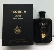 Tequila Noir Pour Homme  3.4 oz Eau de Parfum spray for MEN Sealed Pack