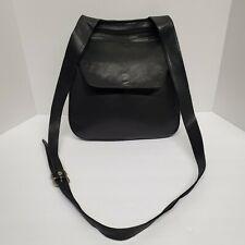 Winn International Leather Shoulder Bag Pouch 7 Pockets
