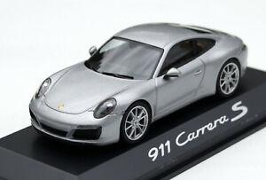 Porsche 911 CARRERA S Coupe Model Type 991.2 Year 2015-2019, Silver Metallic, 1: