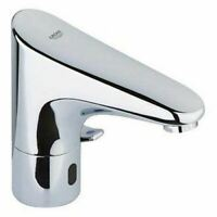 Grohe 36207001 Europlus E Infra-red electronic basin mixer Tap, Adjustable temp