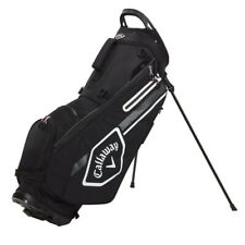 Callaway Chev Stand Golf Bag - Black/Charcoal/White - New 2021